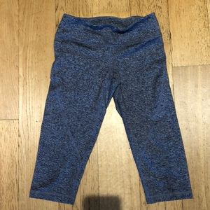 Zella High wasted cropped leggings